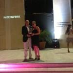 Premio IACDE Club Italia alla Sig.ra Valentina Corapi, la più giovane concorrente del Concorso Nazionale Professione Moda Giovani Stilisti